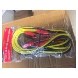NEW 12 FT 10 GAUGE BOOSTER CABLES 3X TIMES BID