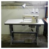 Juki DDl-8700 With Table, Pressure Foot And Knee Pedal, Including Family Electronic Servd Motor Mode