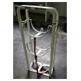 "Weather Guard Refrigerant/Tank Rack, 40"" x 15"" x 8"""