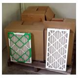 "Best Air Pro 40"" x 20"" x 2"" HVAC Air Filter, Qty 16 And 12"" x 24"" x 2"" M8 HVAC Air Filters, Qty 12"