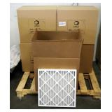 "Best Air Pro HVAC Air Filters 20"" x 20"" x 2"", M8, Qty 57"