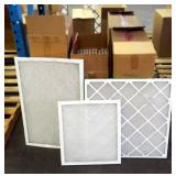 "Best Air Pro HVAC Air Filters 20"" x 30"" x 1"" Qty 12 & 18""x 20"" x 1"" Qty 11 & 25"" x 25"" x 1"" Qty 20"