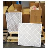"Best Air Pro HVAC Air Filters 18"" x 24"" x 1"" Qty 5, 24"" x 24"" x 1"" Qty 12, 18"" x 18"" x 1"" Qty 12"