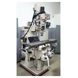 Accupath Accu II Vertical Knee Milling Machine Model # AC-3KVF, X Table Power Feed, And Newall Digit