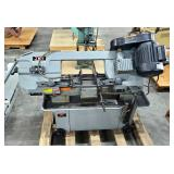 Jet Horizontal/Vertical Electric Band Saw, Model # HVBS-7MW