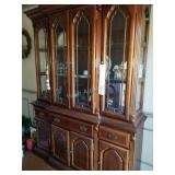 Beautiful Lighted 4 Cabinet China Cabinet- Please