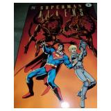 DC Comics Superman Aliens Red