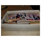 Lot of Baseball cards in box over 1000