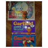 Lot of 3 Garfield Books