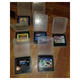 Lot of 7 Game Gear Games
