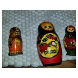 Lot of Nesting Dolls