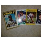 Lot of 4 Cards- Bonds Ripken Canseco and Martin