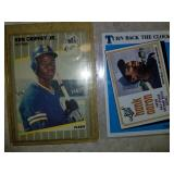 Lot of 4 Cards- Griffey Canseco Boggs and Aaron
