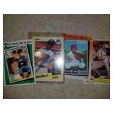 Lot of 4 Cards-Ryan, Rose, Griffey and Bench
