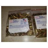 2 Bags 9mm Luger Ammo 100Ct per bag - 115gr
