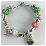 10pc Black Swan Pendant Charm Beads Enamel Accessories DIY Jewelry Making 1093#