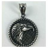Eagle pendant stainless steel