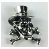 Skull pendant stainless steel