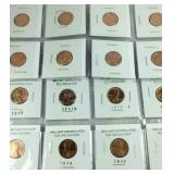 Old Lincoln cents and commemorative medallions