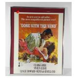 Gone With the Wind movie poster style wall