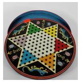 Toys, Ohio Art Chinese checkers tin game with