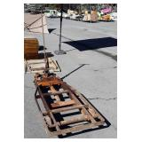 Old Yale Heavy Duty Hydraulic Lift Truck, model