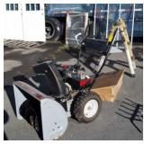 "MTD Snow Blower, 8hp, 26"" cut, has tire chains in"