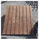 """Shed type Door Ramp, about 2ft wide x  30"""" longx"""