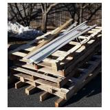 "5 Pallets, about 40x76"" various condition and"