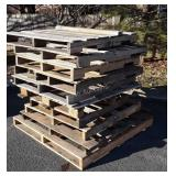10 Pallets, most regulator 4ft couple odds little