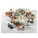 Salt and pepper shaker collection, twenty sets