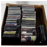 Box of CDs, includes The Who, Sam Grow, Michael