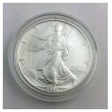 1994 PROOF 1 Ounce fine silver Eagle in Box