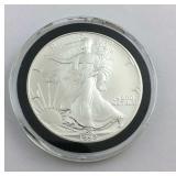 1992 1 ounce American Silver Eagle .999 Fine
