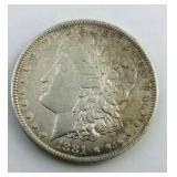 1881 O Morgan Dollar