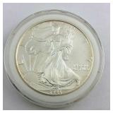 1993 One Ounce .999 Fine Silver American Eagle in