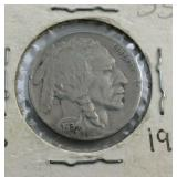 1934 Buffalo Nickel From Estate