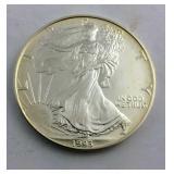 1993 One Ounce .999 Fine Silver American Eagle in