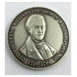 .925 Commerative Otto Williams Founder Of