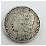 1878 Peace Dollar