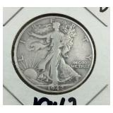 1942-D Walking Half Dollar