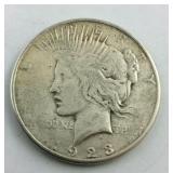 1923-S Peace Dollar