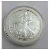 2005 One Ounce .999 Silver American Eagle in nice