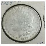 1889 Morgan Dollar Very Nice From Estate
