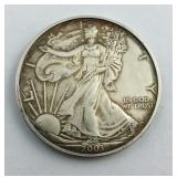 2003 1 Ounce .999 fine Silver American Eagle