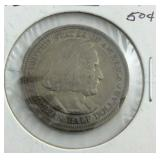 Colombian half dollar