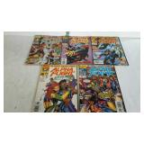 Marvel comics 1997 Alpha Flight #1-5