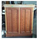 Double door pantry / storage cabinet with four