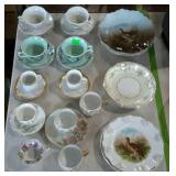 Painted china - plates, bowls, cups, and saucers -