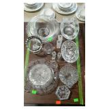 Glassware - bowls, shakers, compote, covered